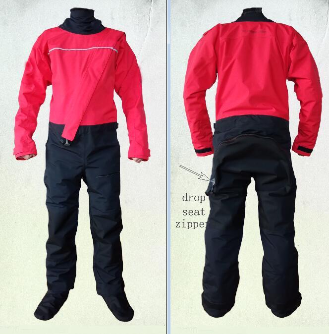 dry suit neoprene neck gasket,Latex wrist gasket,DROP seat zipper paddling rafting whitewater,kayak,sailing,fishing,kitesuring kayak suit