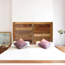 Creative simulated wood texture childhood bedside sticker imitation decoration wall bedroom background