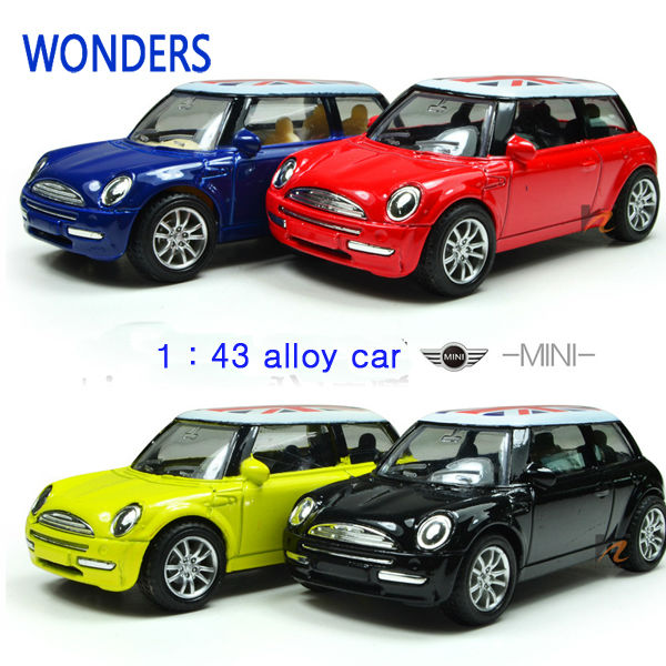 mini cooper car styling alloy kids toys for children juguetes brinquedos para as criancas scale models
