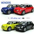 Mini Cooper Автомобиль Стайлинг Сплав Детские Игрушки для Детей Juguetes Brinquedos Пункт Как Criancas Масштабные Модели Вытяните Назад игрушки