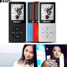 Original Nueva Ultrafinos 8 gb MP3 Player 1.8 Pulgadas de Pantalla Puede Jugar 80 h RUIZU X02 Regalo Reproductor de Música MP3 FM E-Book Reloj Multi-Color