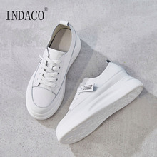 White Shoes Ladies Sneakers Woman 4cm Off
