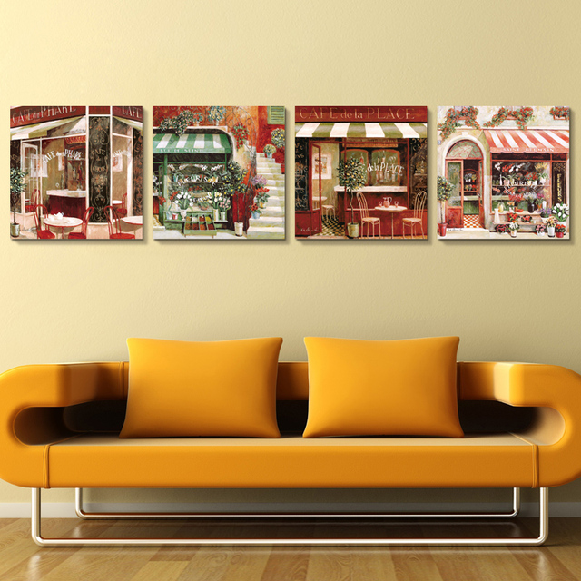 Flower Shop Painting Decorative Paintings For Restaurant Bedroom Home Wall Art Picture For Living Room