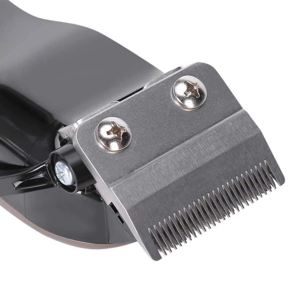 充電式ヘアトリマープロヘッドバリカン散髪シェービング機切断髭除去ツール理髪電気 KM-1990