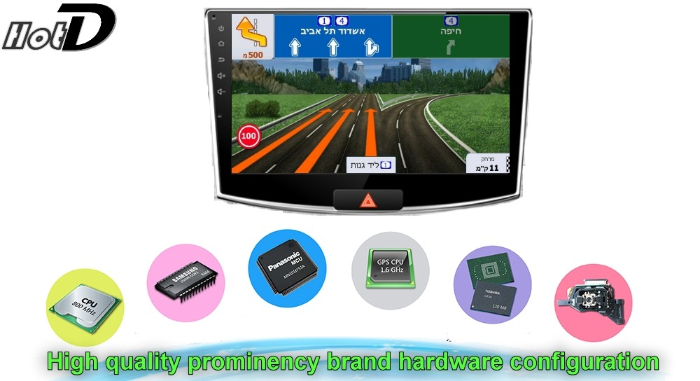 Car Multimedia Video GPS NAVI Controller System For Volkswagen VW Magotan Dasher Quantum Corsar Carat B7 2010 2011 2012 2013 2014 2015 2016 Hardware configuration
