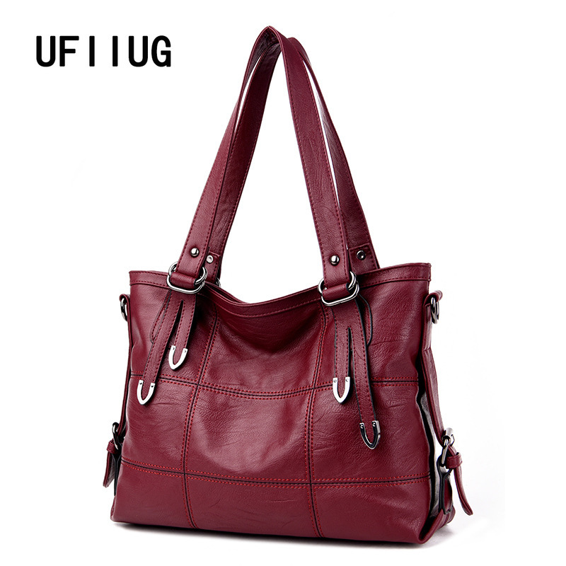 2019 New Arrival Ladies Hand Bag Women's Genuine Leather Handbag Casual Tote Bolsas Femininas Female Shoulder