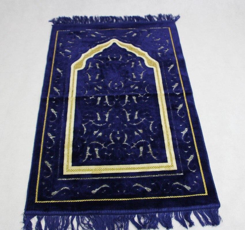 tapis de priere islamique nouveau design unique 70x110cm couverture de voyage salat musulman