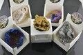 New Arrival 5pcs Mixed Color Aura Quartz Titanium Plated Druzy Geode Pieces Without Hole Gold Blue Silver Rainbow