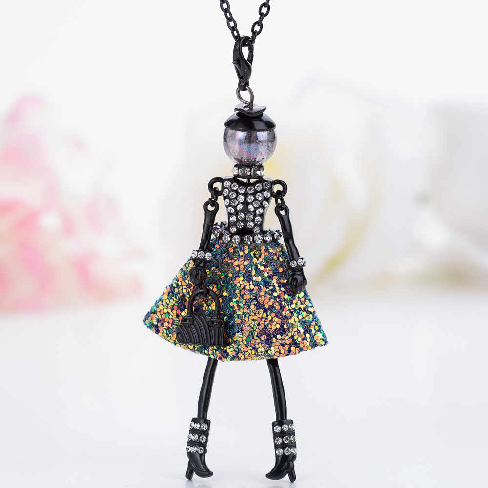 ce7fdd9c4fa31 Detail Feedback Questions about HOCOLE French Doll Necklaces ...