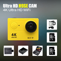 "100% Ultra HD 4 К H9SE ЭКЕН wifi действий камеры 2.0 ""шлем действий Камеры Спорт Камеры 1080 P 60fps действий Cam против sj go pro камеры cam"