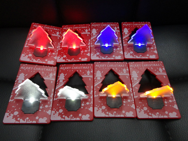 the christmas tree card lights led small night lights creative gift ideas for christmas gifts