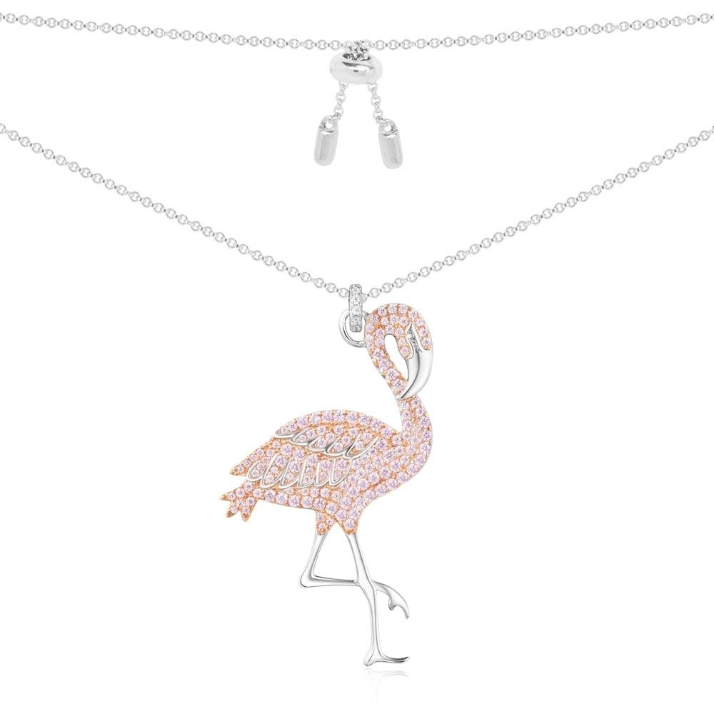 GODKI Pink Flamingos Luxury Women Cubic Zirconia Nigerian Wes