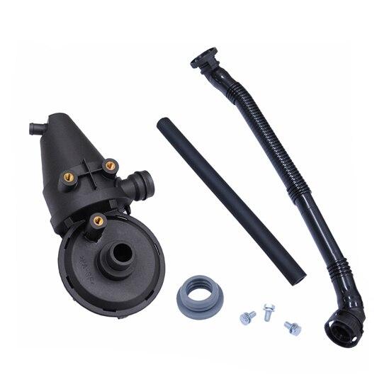 Prix pour Nouveau Carter Séparateur D'huile PCV Vent Valve Kit Reniflard Tuyau pour BMW E36 E38 E39 11151703484 11 15 1 703 484