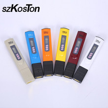 Temp Testing Pen Digital LCD Water Quality TDS Meters Tester 0-9990 PPM Measuring Water Purity Filter TEMP/PPM Water Quality