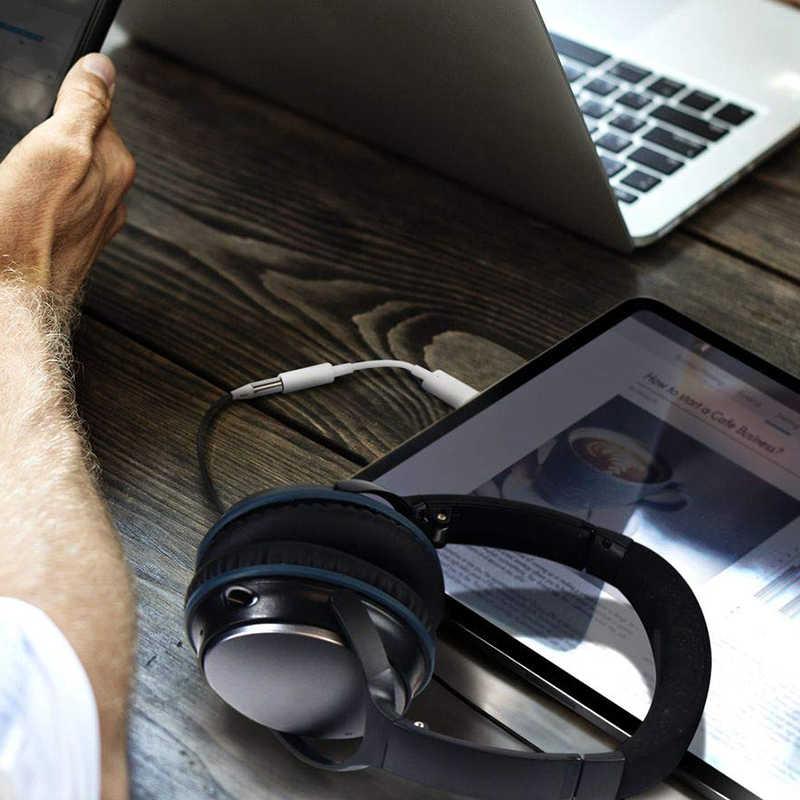 USB C цифровой до 3,5 мм разъем для наушников адаптер, Hi-Res Поддержка объем Управление, Поддерживающий Тип C мобильных телефонов, как S9, пикселей, и т. д.