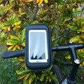Водонепроницаемый Мотоцикл Велосипед Велосипедное Крепление Дело Держатель Для Сотового Телефона Регулируемая Мяч Головой Практическая Велосипед Аксессуары