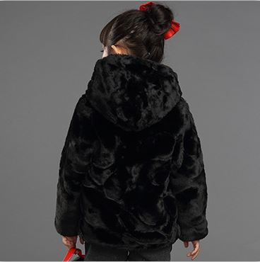 72c824f8e3df Furry Thick Winter children jackets Boys Girls Coat Mink fur coat Faux Fur  Overcoat Kids Outerwear Cotton Baby Boy Snowsuit F3-in Jackets   Coats from  ...