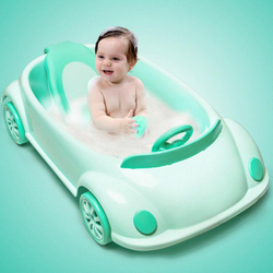 Новые детали для детей, лежа, в форме машины, Детская ванна для маленьких детей, ванночка в подарок