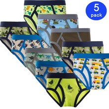 5pcs/lot kids boys underwear cartoon soft short boxer children briefs majtki baby panties calcinhas infantis