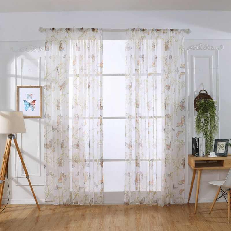 Sheer Valance Beautiful Window Curtain