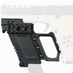Image 1 - Тактический Глок для страйкбола держатель журнала Многофункциональный подходит для CS G17 G18 G19 пистолет Карабин Комплект охотничьи принадлежности
