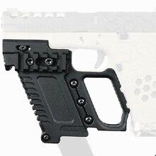 טקטי Airsoft גלוק מגזין בעל רב פונקצית מתאים עבור CS G17 G18 G19 אקדח קרבין ערכת ציד אבזר