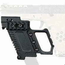 전술 airsoft 글록 잡지 홀더 cs g17 g18 g19 권총 카빈 키트 사냥 액세서리에 대한 다기능 적합