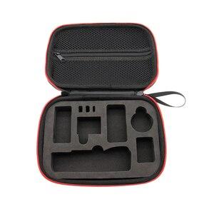 Image 5 - DJI אוסמו כיס Gimbal אביזרי נייד מיני נרתיק EVA תיבת אחסון תיק אוסמו כיס כף יד Gimbal תיק