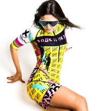 2019 Love the pain Punk Speedstream Race Suit women cycling skinsuit ropa ciclismo mujer summer bike Onesies triathlon suit the bike race