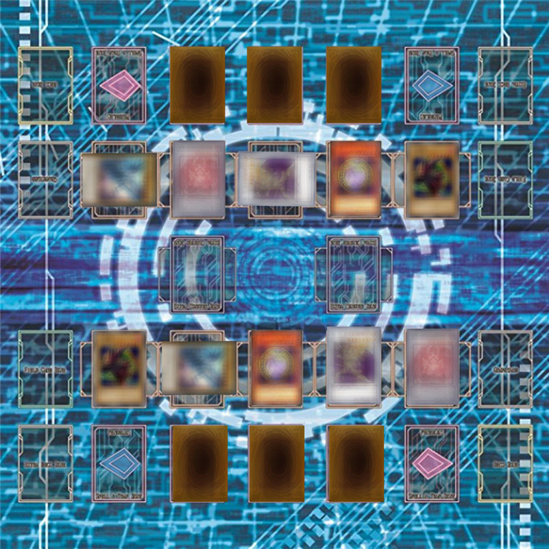 60x60cm tapis de jeu en caoutchouc egypte Style Mural tapis de compétition pour yu-gi-oh carte de collection de jeu de cartes pour garçons filles cadeau D4