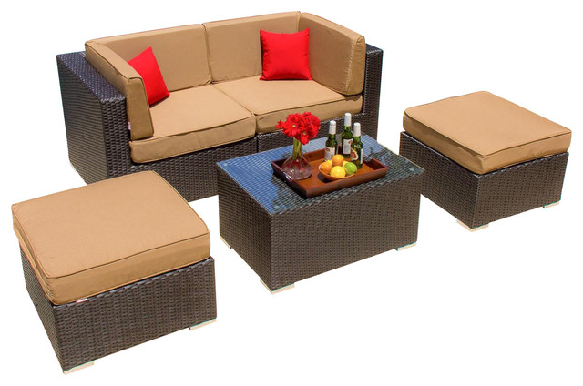 2017 best sale outdoor rattan furniture 2 person resin wicker patio