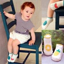 0 4 Years Baby Socks Cute Boy Girl Children Fruit Pattern Cotton Slip Bottom Small Socks