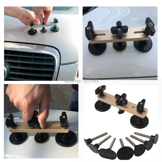 PDR Tools Kit Latest Bridge Puller Removal Dent tools For Paintless Dent Repair Tool Instruments Ferramentas any vehicle 7tabs
