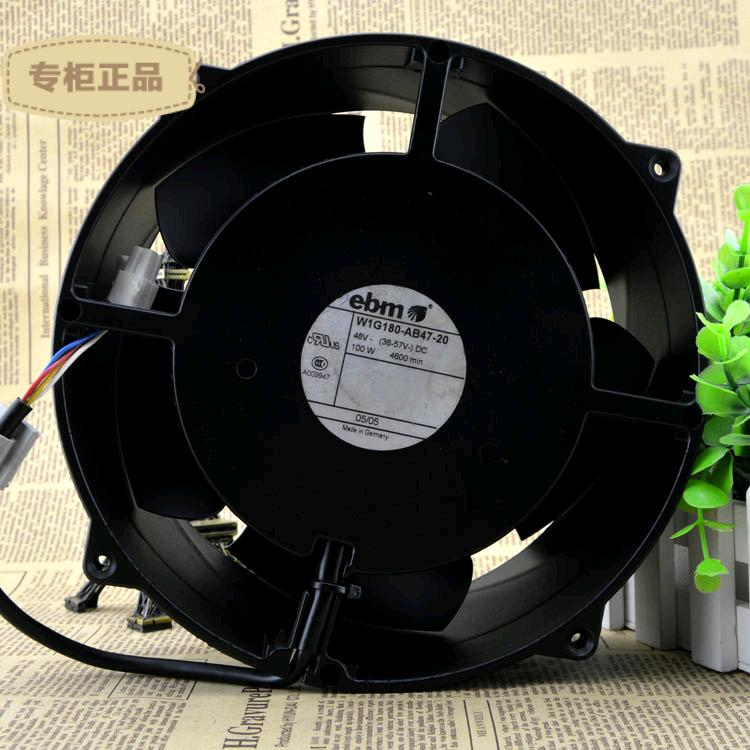 Free Delivery. 20 cm W1G180 48 v - AB47-20 100 w booster fan violence resistance to high temperature зонты