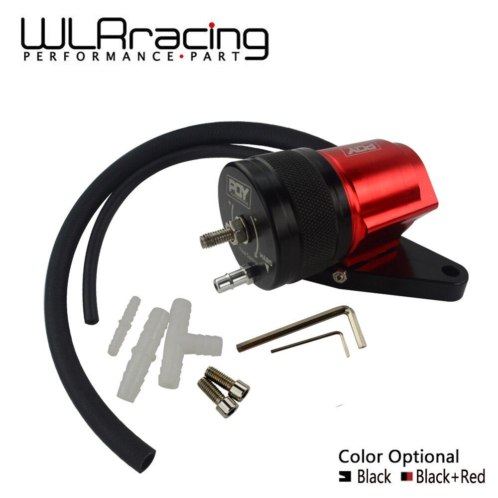 WLR RACING New Intercooler ADJUSTABLE Recirculation Blow Off Valve Kit For 02 07 WRX 04 17 STi WLR5751