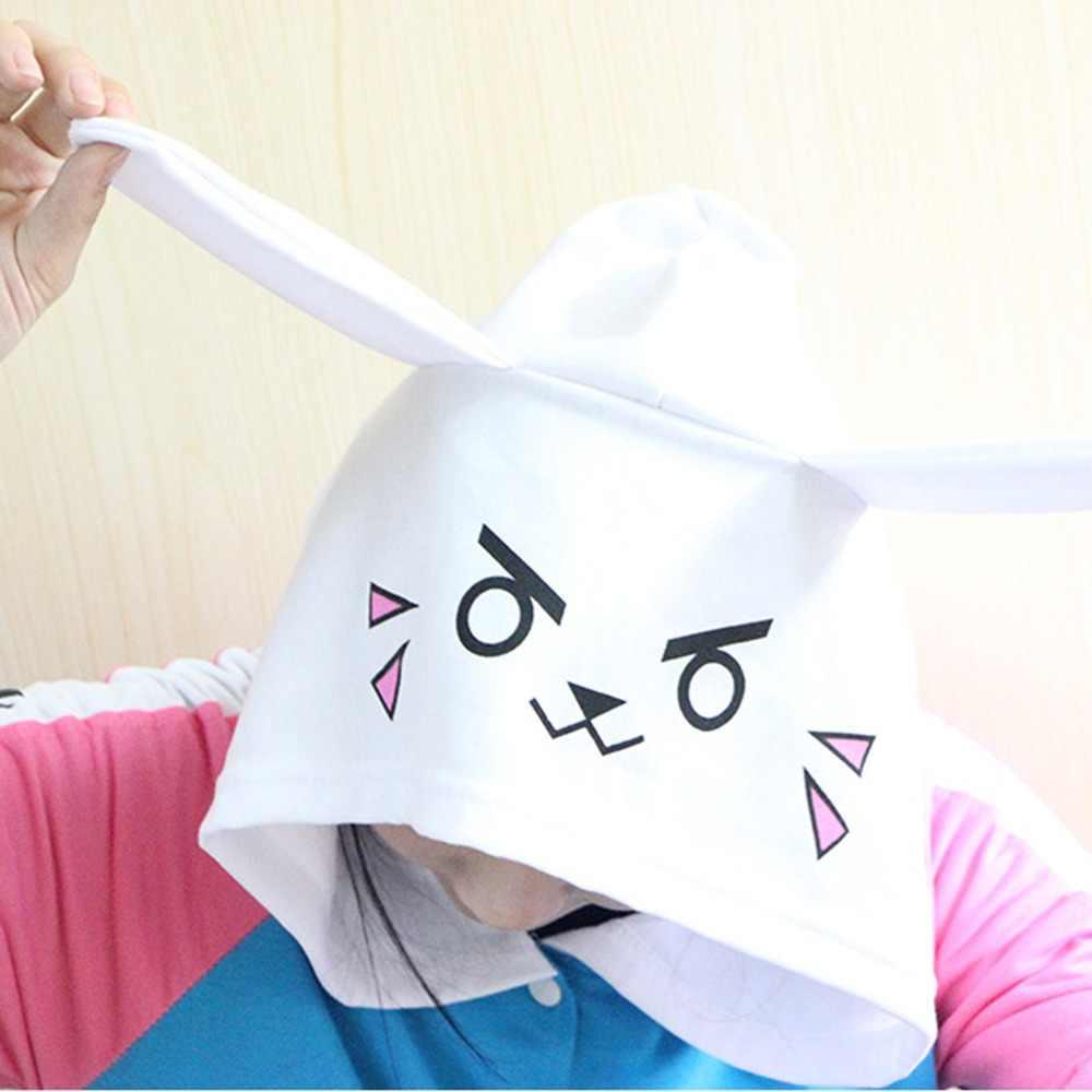 Anime Pakaian Permainan DVA Hoodie Cosplay Kostum D. va Dewasa Bisbol Mantel D. VA Jaket Feminino Cosplay Tipis Hoodies untuk Pria Wanita