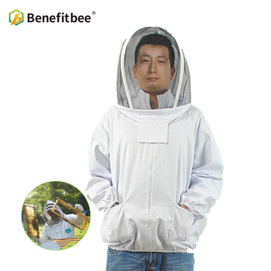 Beneitbee Apiculture outils abeille costume apiculteur costume pour Apiculture veste protéger coton vêtements Apiculture équipement Apiculture