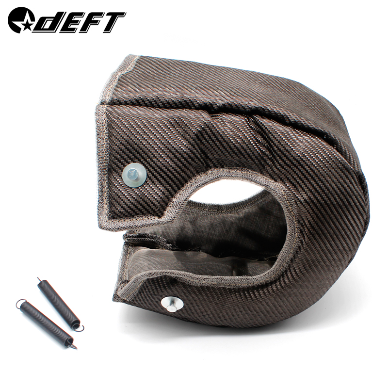 DEFT <font><b>T3</b></font> <font><b>Turbo</b></font> <font><b>Blanket</b></font> Heat Shield Turbocharger Cover <font><b>Turbo</b></font> <font><b>Blanket</b></font> Heat Shield Cover Wrap For T2 T25 T28 GT30 T35 image