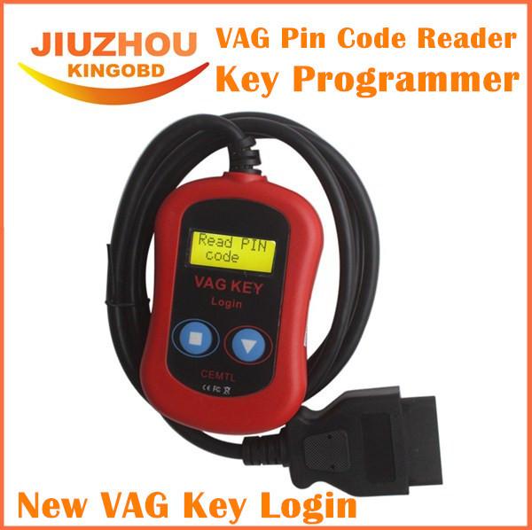 2016 mejor VAG PIN Code Reader OBD 2 programador clave 2 en 1 dispositivos a través de OBD2 conector de diagnóstico para AUDI VW programación de la llave