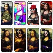 Slim Mona Lisa Phone Case for Huawei Honor 6A Cover 10 8 9 Lite 7A Pro 7X 7C Y6 Prime Nova 3 3i Soft