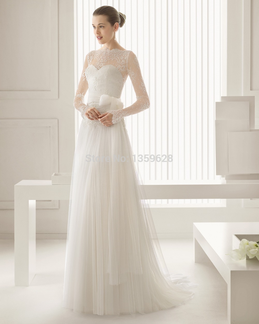 mori lee bridal wedding dress illusion wedding dress Mori Lee Bridal