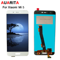 AAA Quality 5pcs Lot LCD For Xiaomi Mi5 LCD Display Touch Panel Screen Digitizer Assembly For