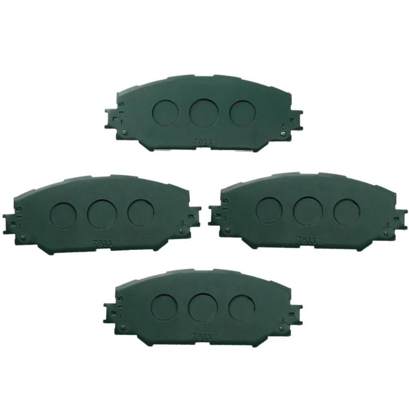 Auto 4 stücke Vorne Keramik Bremsbeläge Auto Voiture Accessoreis Innen Ersatz Teil für Toyota für Matrix RAV4 04465-AZ114