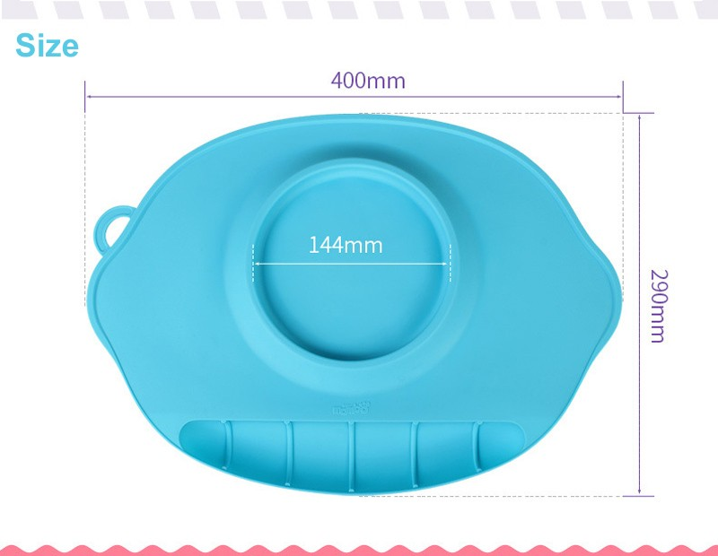 changing table topper 2016 Non-Slip Tray Baby Table Topper Mat Waterproof Silicone Pad Infant Dinner Portable Placemat - Baby Feeding Baby Place Mat 03