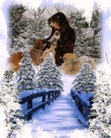 5d DIY diamond painting Snowy day woman and the dog diamond embroidery diamond painting cross stitch diamond mosaic
