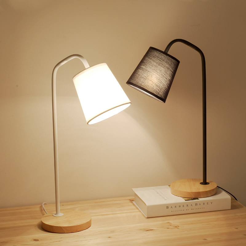 Minimalism Modern Nordic Iron Wood Led E27 Table Lamp For Bedroom Study Living Room H 48cm Ac 80-265v 1768 furuyama m ando modern minimalism with a japanese touch taschen basic architecture series