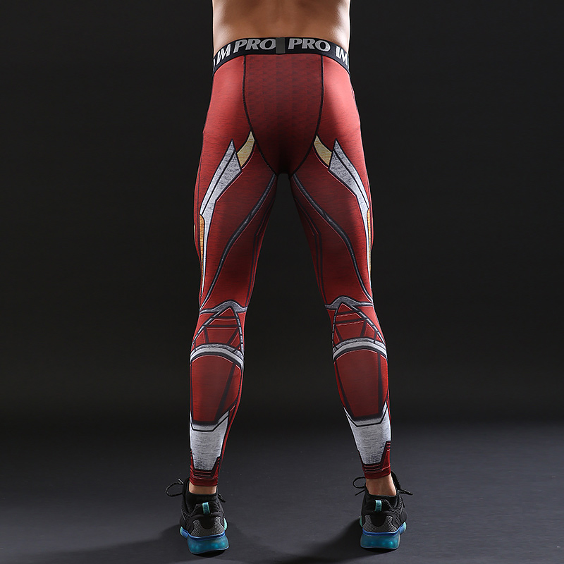 d32731b76fcc0 Avengers 3 Infinity War MK50 Iron Men 3D Printed Pattern Compression Tights  Pants Men 2018 Fitness Skinny Leggings Trousers Male-in Skinny Pants from  Men's ...