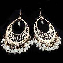 NANBO SPX5127 Fashion Hot Sale Snow Flower Branded Crystal statement earrings Jewelry E-JOY LIFE