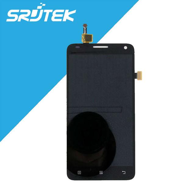 Venda quente para lenovo s580 sensores display lcd touch screen digitador assembléia completa substituição preto