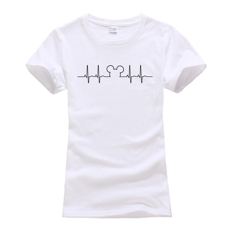 Streetwear hip-hop brand Clothes Short Sleeve Tee Shirt Cartoon Mouse printed T Shirt Women Funny femme tops cute Camisetas S-XL